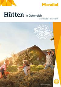 Hütten in Österreich Katalog Cover