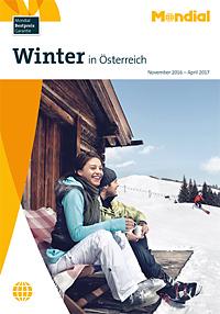 Winter in Österreich Katalog Cover